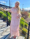 LORETTA DRESS LIGHT PINK thumbnail