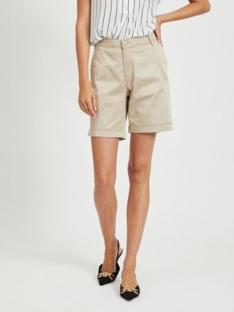 VICHINO SHORTS SOFT CAMEL