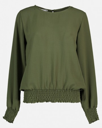 JULES BLOUSE ARMY GREEN