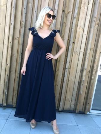 f9ef2fef Maxi kjole fra Vila. VIRANNSIL DRESS NAVY